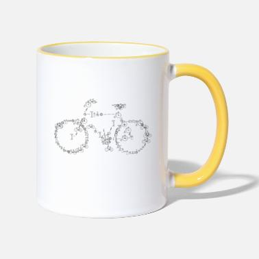 Bicycle bicycle - Contrasting Mug