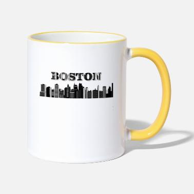 Boston Marathon Boston - Contrasting Mug