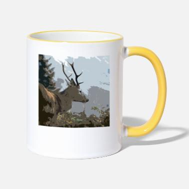 Stags Stag - Two-Tone Mug