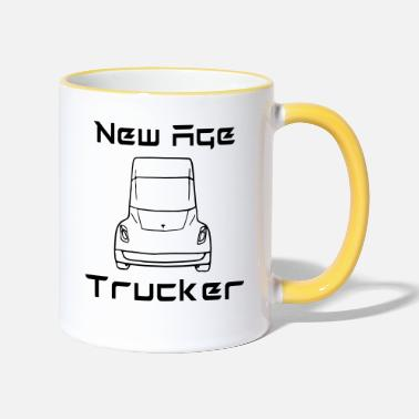 New Age New Age Trucker - Kontrastmugg