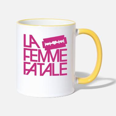 Fatal The Femme Fatale - Two-Tone Mug