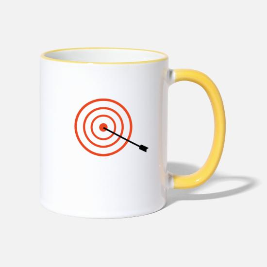 Market Mugs & Drinkware - target - Two-Tone Mug white/yellow