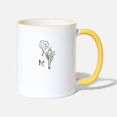 Vegetable vegetal - Two-Tone Mug