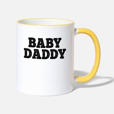 Baby Awesome Baby Daddy Gifts voor New Dad. Vader. Papa - Mok tweekleurig