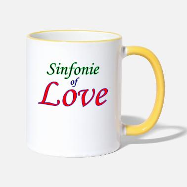 Sinfonia Sinfonia d'amore - Tazza bicolor
