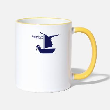 High Seas Suck on the High Seas (1c) - Two-Tone Mug