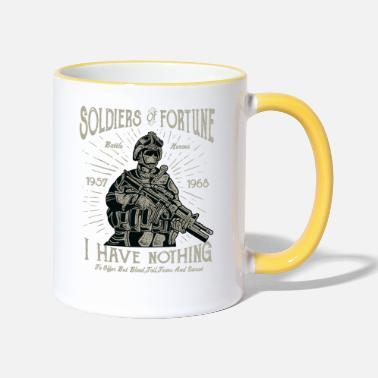 Military ARMY HEROES - Army Army and Soldiers Shirt Gift - Two-Tone Mug