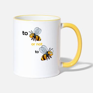 Manchester bee or not to bee - Contrasting Mug