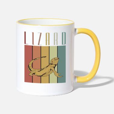 Lizard Vintage Lizard Lizard Kelly Lizard Rock Lizard - Two-Tone Mug