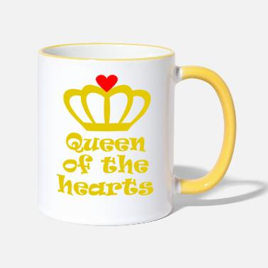 Queen Of Hearts queen of the hearts - Contrasting Mug