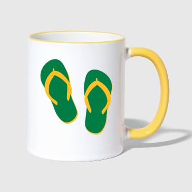 tongs - Mug contrasté