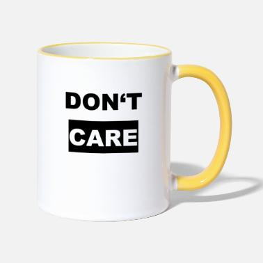 Dont Care-logotypen - Kontrastmugg