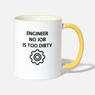 Mechanic mechanic - Two-Tone Mug