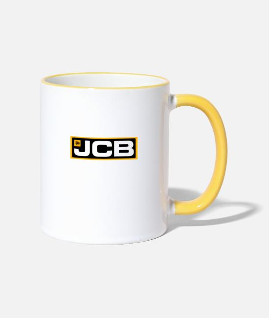Brand Mugs & Drinkware - Do you have something for you and me - Two-Tone Mug white/yellow