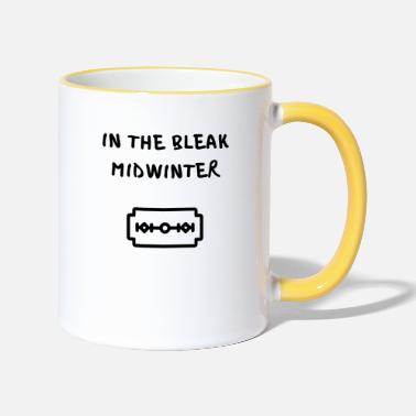 Tv IN THE BLEAK MIDWINTER - Mug bicolore