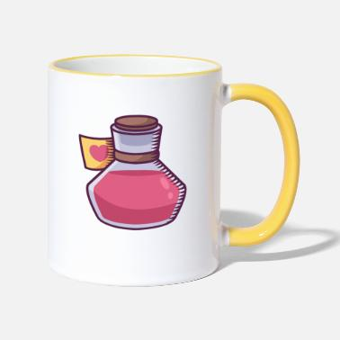 Elixir Love Potion - Two-Tone Mug