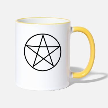 Pentacle Pentagram / Pentacle - Two-Tone Mug