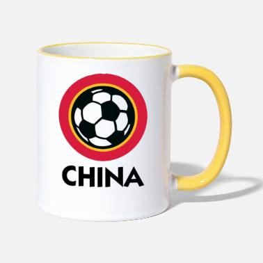 China Football Crest Of China - Two-Tone Mug