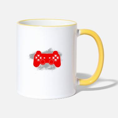 Number Gamer Birthday Shirt · Birthday · Birth · 47 - Two-Tone Mug