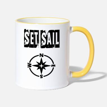 Set set sail - Two-Tone Mug