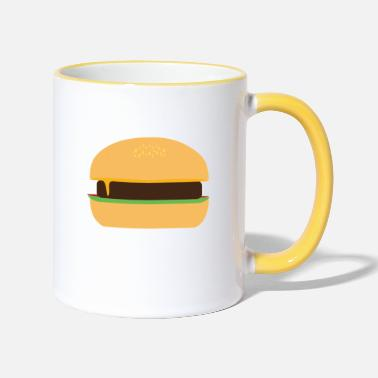 Cheeseburger Cheeseburger - Two-Tone Mug