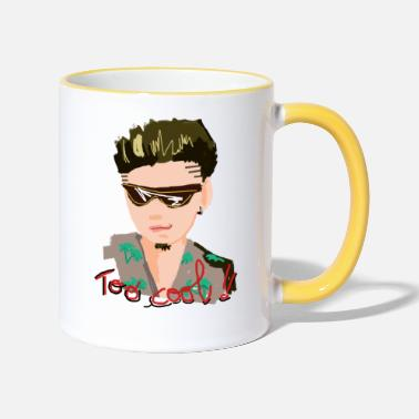 TOO COOL - Mug bicolore