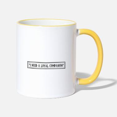 Hundeerziehung On 8th Day God Looked Down Made Pointer - Two-Tone Mug
