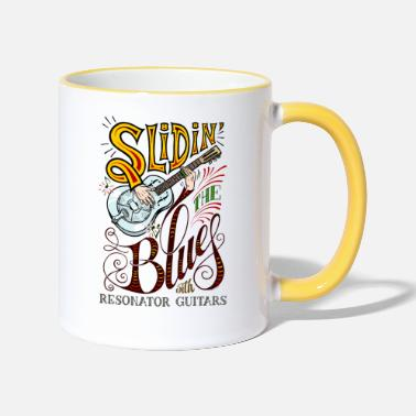 Sliding the Blues (with resonator guitars) © - Two-Tone Mug