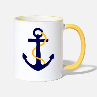 Foul Fouled Anchor - Two-Tone Mug