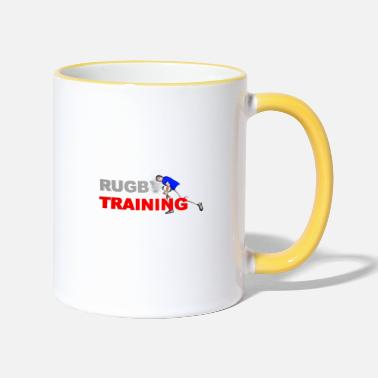 Lyon Rugby Toulousain RUGBY TRAINING - Two-Tone Mug