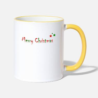 Merry Christmas - Two-Tone Mug