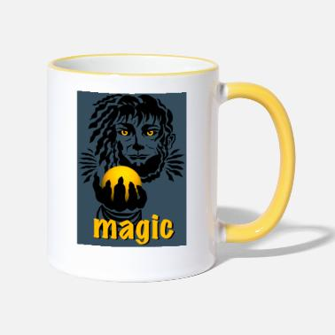 magic - Tasse zweifarbig