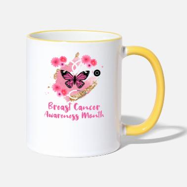 Breast Cancer Awareness Breast Cancer Awareness Month - Two-Tone Mug