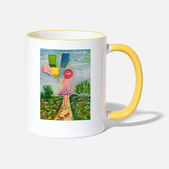 Move Mugs & Drinkware - Move On - Two-Tone Mug white/yellow