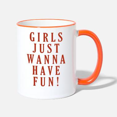Girl Power - Taza de dos colores
