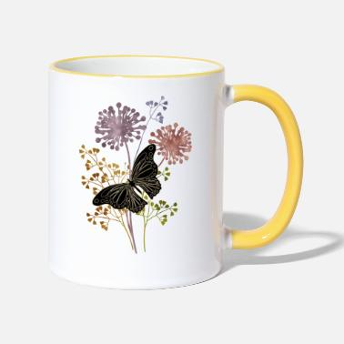 Wing Butterfly - Two-Tone Mug
