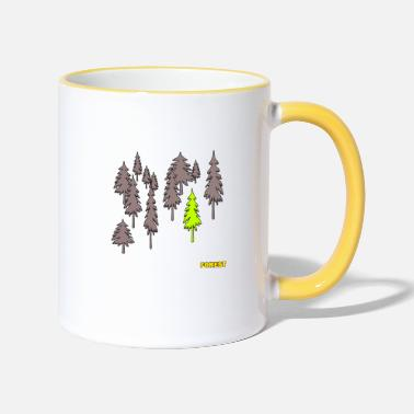 Forest Forest - forest - Two-Tone Mug