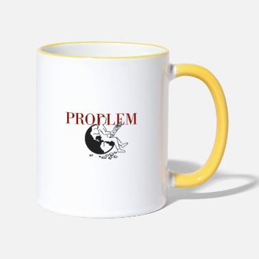 Goodbyeearth PROBLEM - Two-Tone Mug