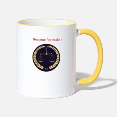 Badged Revenue Protection - Two-Tone Mug