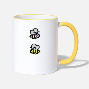 Honey Bee Honey, bee, honey bee, beekeeper, - Contrasting Mug