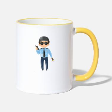 Security Service Security - Two-Tone Mug