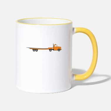 Transport transporter - Two-Tone Mug