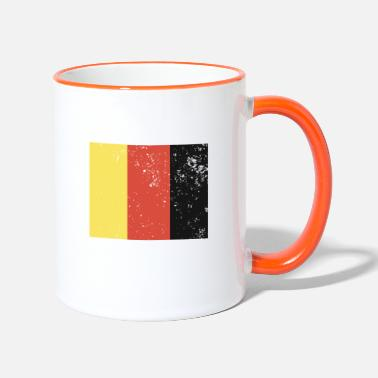 Black Red Gold black red Gold - Two-Tone Mug