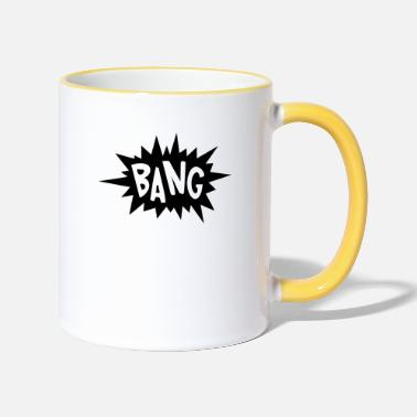 Lapsi craintivement - Mug bicolore