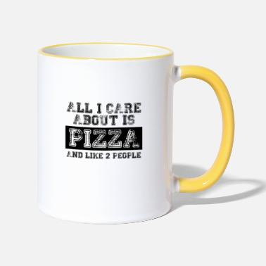 All I care about is... - Two-Tone Mug