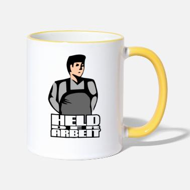 Labour Hero of Labour (Workers Held) - Two-Tone Mug