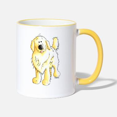 Golden Retriever Grappig Golden Retriever - Mok tweekleurig