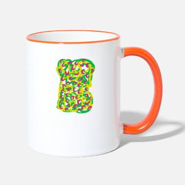 Graphic Art graphic art spring - Tasse zweifarbig