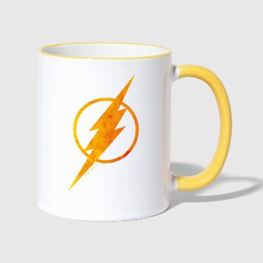 Justice League Flash Logo Tasse - Tasse zweifarbig