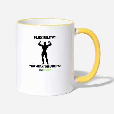 Ability Ability to Flex - Two-Tone Mug